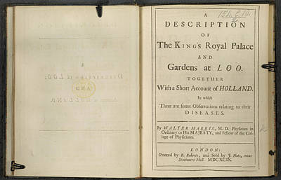 The King Photograph - Title Page by British Library