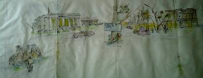 to Lewiston Art Print