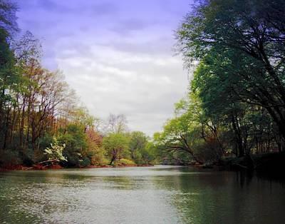 Photograph - Toccoa River Spring by Joe Duket
