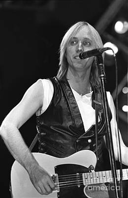 Tom Petty Photograph - Tom Petty And The Heartbreakers by Concert Photos
