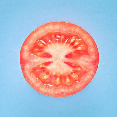 Tomato Art Print by Tom Gowanlock