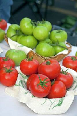 Louisiana Photograph - Tomatoes On Sale At A Farmers Market by Jim West