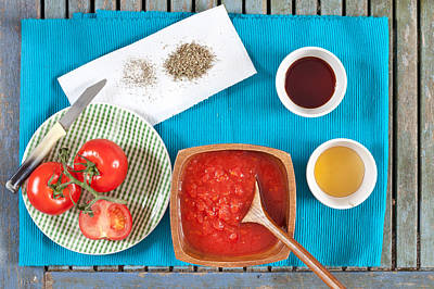 Royalty-Free and Rights-Managed Images - Tomatoes by Tom Gowanlock
