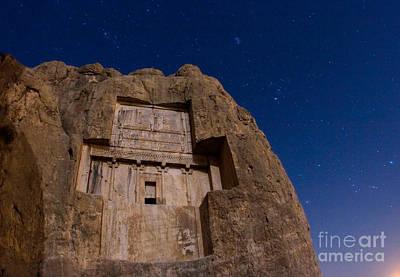 Tomb Of Xerxes Art Print