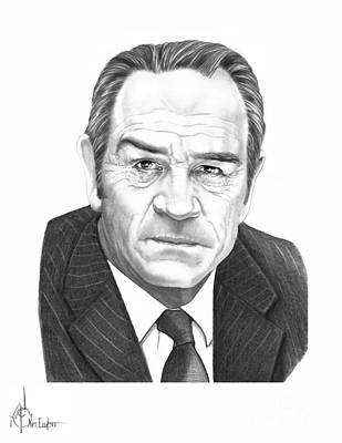 Tommy Lee Jones Original by Murphy Elliott