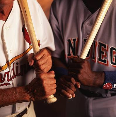 Tony Gwynn And Stan Musial Art Print by Retro Images Archive