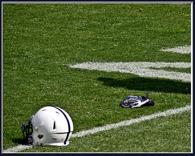 Tools Of The Game Art Print by Tom Gari Gallery-Three-Photography
