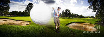 Sports Royalty-Free and Rights-Managed Images - Top Flight Golf by Jorgo Photography
