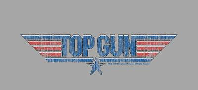 Goose Digital Art - Top Gun - 8 Bit Logo by Brand A