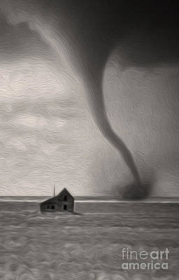 Digital Art - Tornado by Gregory Dyer