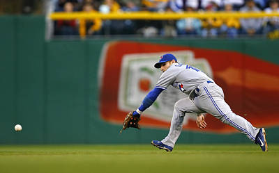 Photograph - Toronto Blue Jays V Pittsburgh Pirates by Matt Sullivan