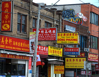 Photograph - Toronto Chinatown by Steven Richman