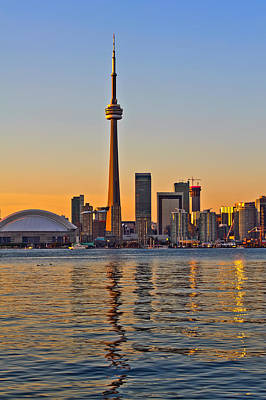 Photograph - Toronto City View by Marek Poplawski