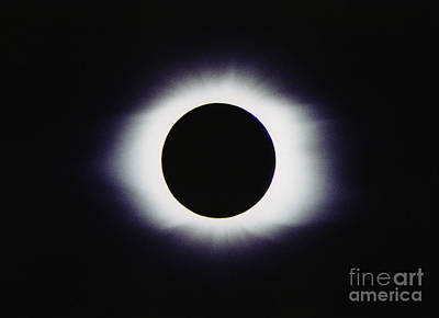 Total Solar Eclipse Art Print by John Chumack