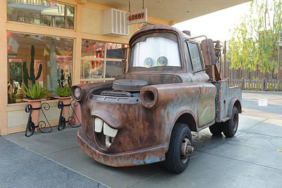 Photograph - Tow Mater by Michael Albright