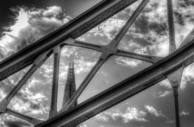Photograph - Tower Bridge And The Shard by David Pyatt