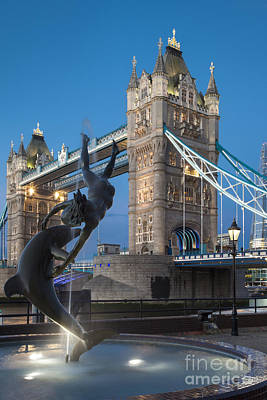 Photograph - Tower Bridge - London by Brian Jannsen
