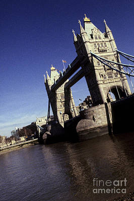 Photograph - Tower Bridge London England by Ryan Fox