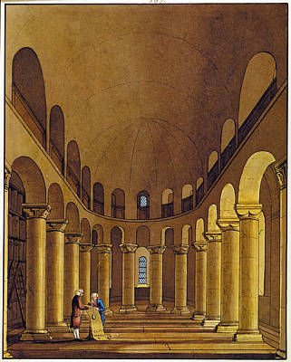 Tower Of London Painting - Tower Of London Chapel by Granger