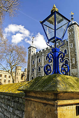 Fantasy Royalty-Free and Rights-Managed Images - Tower of London by Elena Elisseeva