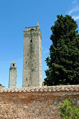 San Gimignano Photograph - Towers Of San Gimignano, Unesco World by Nico Tondini