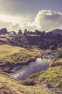 Photograph - Town Of Waratah In Tasmania Australia by Jorgo Photography - Wall Art Gallery