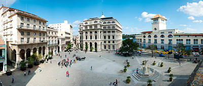 Town Square, Plaza De San Francisco Art Print by Panoramic Images