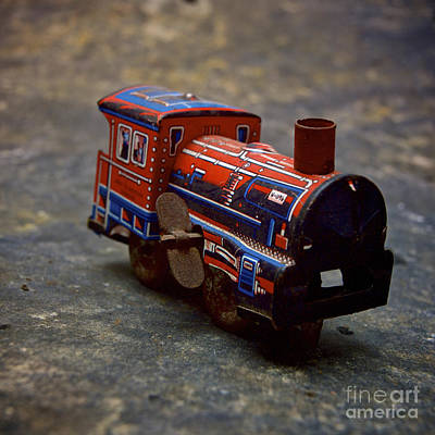 Toy Train. Art Print