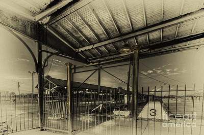 Railroad Station Photograph - Track 3  by Marvin Spates