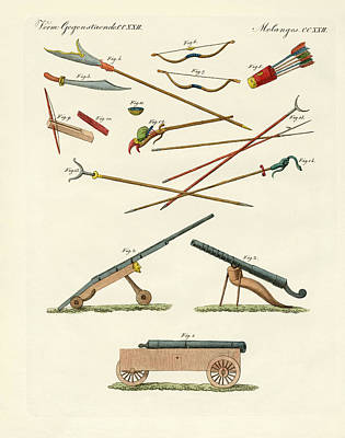 Handcrafted Drawing - Trades Arts And Handworks In China by Splendid Art Prints