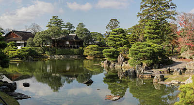 Katsura Wall Art - Photograph - Traditional Garden In Katsura Imperial by Panoramic Images