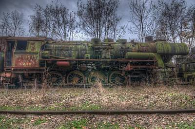 Rail Digital Art - Train 4 by Nathan Wright