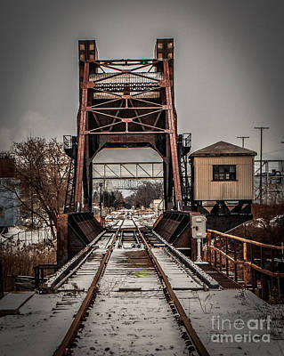 Photograph - Train Bridge by Grace Grogan