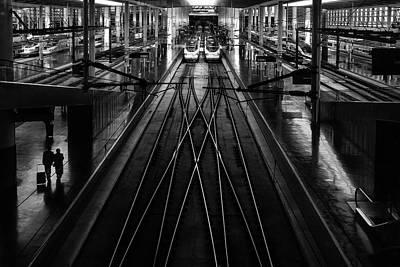 Ave Wall Art - Photograph - Train Station by Anderson Miranda