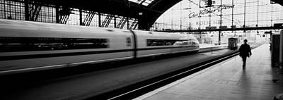 Photograph - Train Station, Cologne, Germany by Panoramic Images