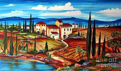 Tranquillita' Toscana Art Print