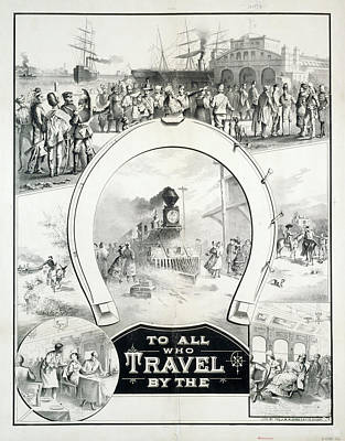 Travel Poster, C1882 Print by Granger