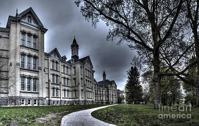 Traverse City State Mental Hospital Art Print by Twenty Two North Photography