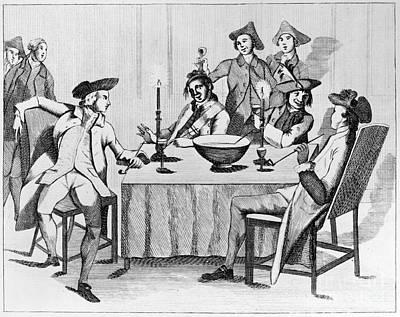 Treaty Of Paris, 1763 Art Print