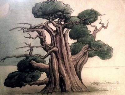 Tree Art Print by Justin Moranville