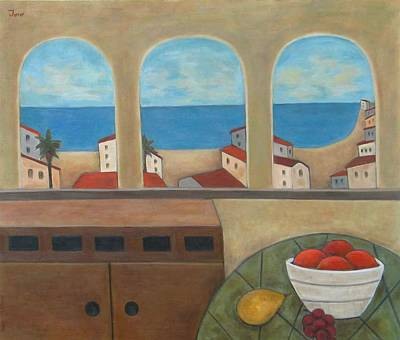 Painting - Tres Ventanas by Trish Toro