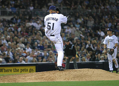 Art Print featuring the photograph Trevor Hoffman by Don Olea