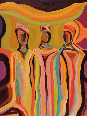 Painting - Trio by Ida Mitchell