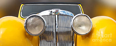 Photograph - Triumph Roadster  1946 by Evgeniy Lankin