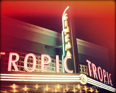Assembly Hall Photograph - Tropic Cinema-horiz-ii by Chris Andruskiewicz