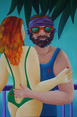 Painting - Tropical Dance by Karin Eisermann