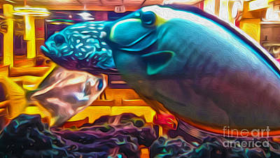 Painting - Tropical Fish  by Gregory Dyer