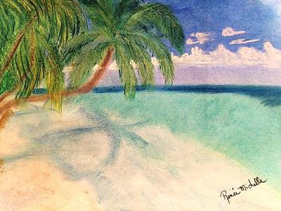 Pastel - Tropical Shores by Renee Michelle Wenker