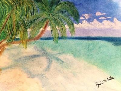Tropical Shores Art Print