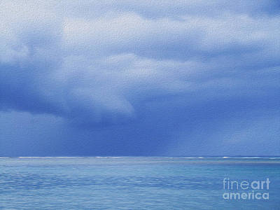Tropical Storm Art Print